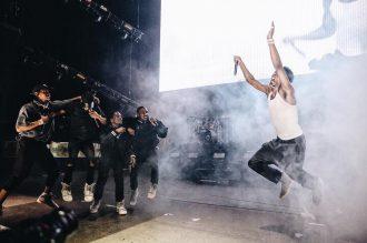 Kanye West Ft. Gucci Mane, Big Sean, 2 Chainz, Travi$ Scott, Yo Gotti, Quavo & Desiigner - Round & Round (Champions)