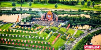 Q-dance stage - Mysteryland
