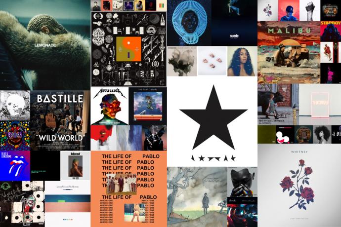 De beste albums van 2016 volgens Nieuweplaat