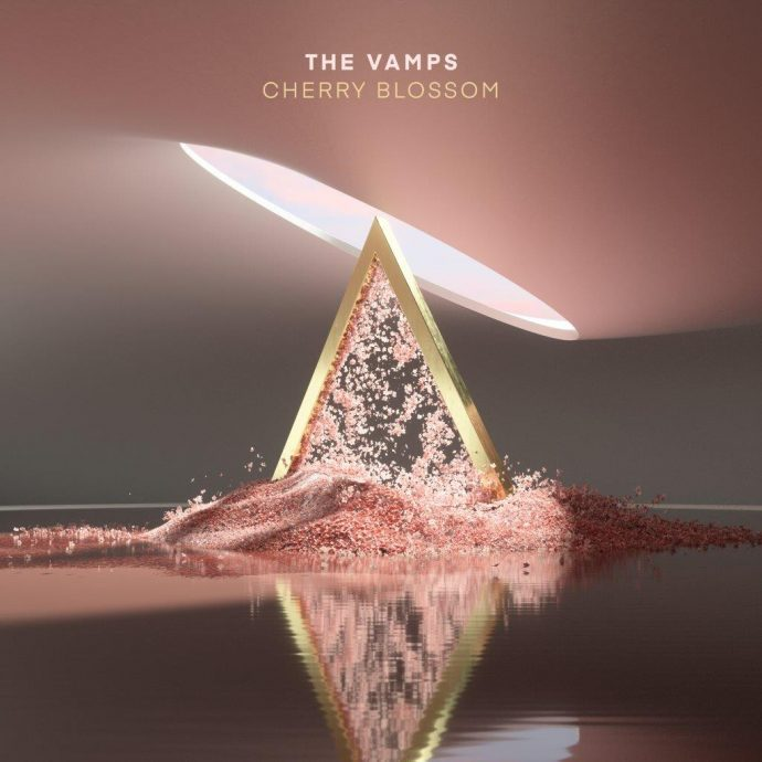the vamps cherry blossom albumcover