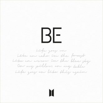 bts - be albumcover